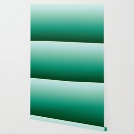 Ombre Teal Green Gradient Pattern Wallpaper