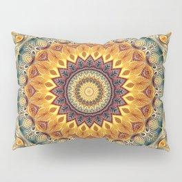 Flower Of Life Mandala (Sun-kissed) Pillow Sham