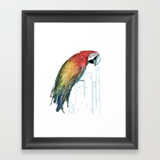 Polly in the City Framed Art Print