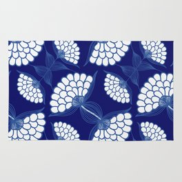 Royal Floral Motif Rug
