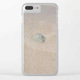 gelly fish Clear iPhone Case