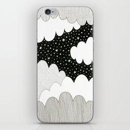 Cloudy Night iPhone Skin