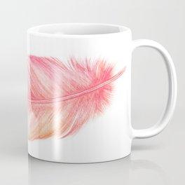 Flamingo Feathers | Watercolour Print Coffee Mug