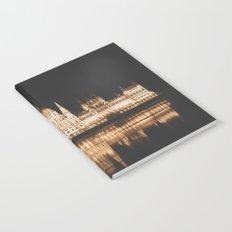 Hungarian Parliament Notebook