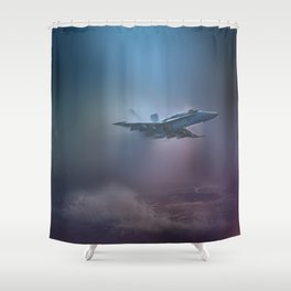 Wave Hopping Shower Curtain
