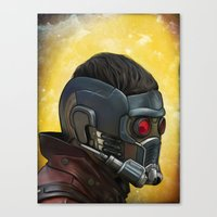 starlord Canvas Prints featuring Starlord by Jimmy Breen