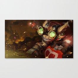Ziggs! Canvas Print