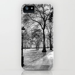 Green Park London Art iPhone Case