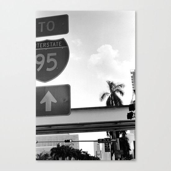 Interstate Canvas Print