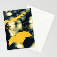 Love the Trees Until... Stationery Cards