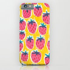 Strawberry Fun iPhone 6s Slim Case