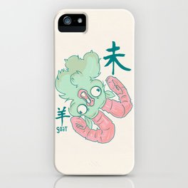 Year of the Goat iPhone Case