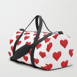 Origami Heart Duffle Bag
