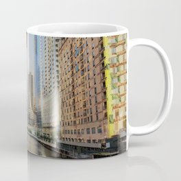 Chicago by the river Coffee Mug