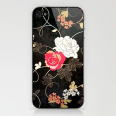 VINTAGE FLOWERS VII - for iphone iPhone & iPod Skin