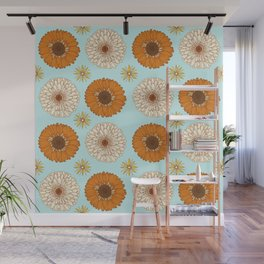 Gerber Daisy Floral Wall Mural