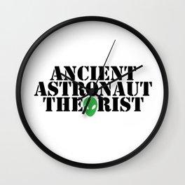 Ancient Astronaut Theorist Alien Funny Birthday Gift Wall Clock