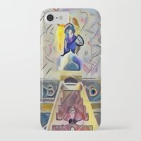 kandinsky iPhone & iPod Cases featuring Angel over Amsterdam by Detailicious