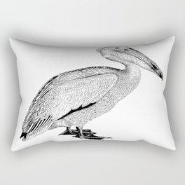 Artistic Falcon Bird Rectangular Pillow