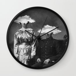 Stormy Couple Wall Clock