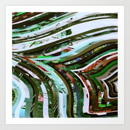 Nature Tree Veins Art Print