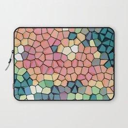 Colored Stone Blocks Pattern Laptop Sleeve