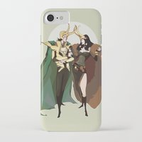 loki iPhone & iPod Cases featuring loki by imponderabilia