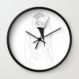 Look what is inside of me Wall Clock