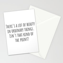 Beauty in Ordinary Things Stationery Cards