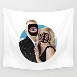 Mr. Mars & Mrs. Venus Wall Tapestry