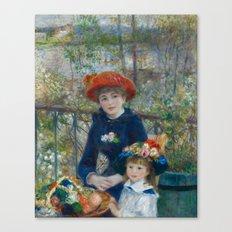 Pierre-Auguste Renoir - Two Sisters Canvas Print