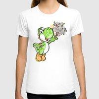 yoshi T-shirts featuring Yoshi Wonderland !  by Art & Be