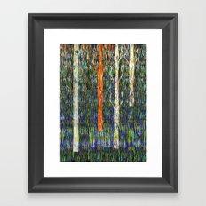 Field of grass Framed Art Print