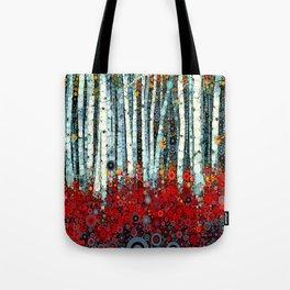 :: Begonia Birch :: Tote Bag