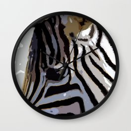 Zebra-Art Wall Clock