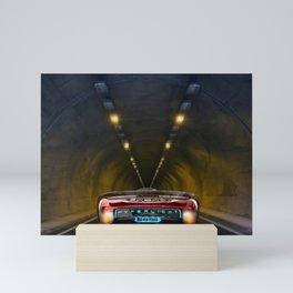 Electric car Mini Art Print