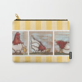 You Are So Loved Chickens - by Diane Duda Carry-All Pouch