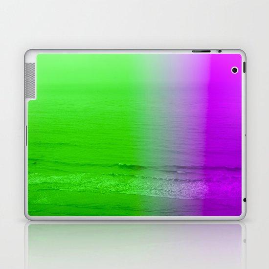 green + purple Laptop & iPad Skin
