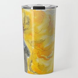 Orange magic witch Travel Mug