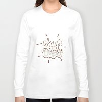okay Long Sleeve T-shirts featuring Okay? Okay. by Risa Rodil