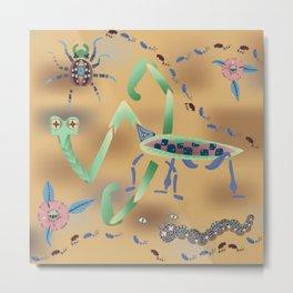 Call of the Mantis Metal Print
