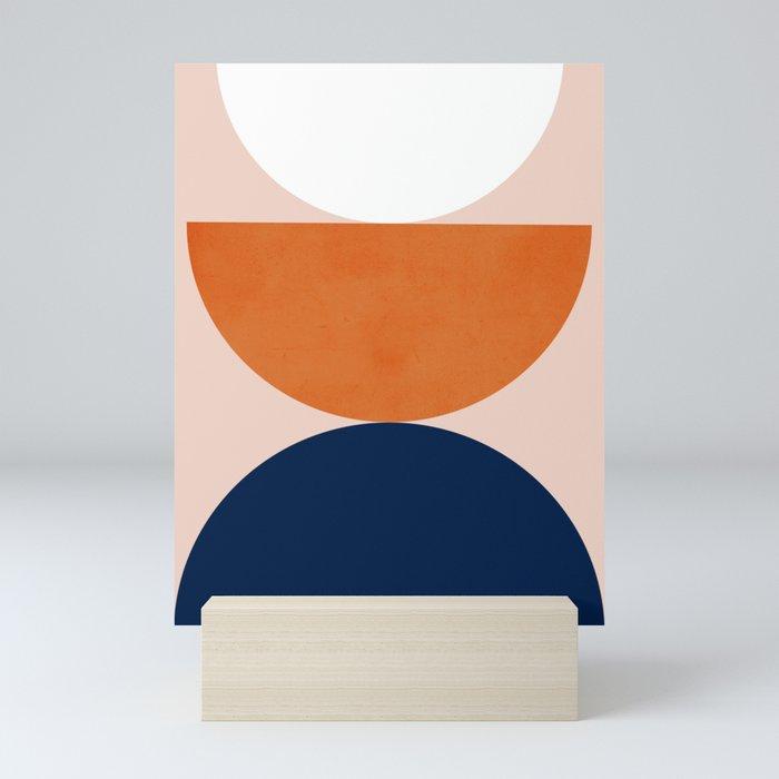 Abstraction_Balance_Minimalism_001 Mini Art Print