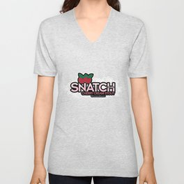 Snatch Double Cherry Cream Stout Unisex V-Neck