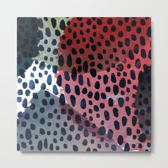 Spots & Dots Metal Print