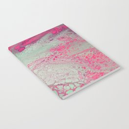 """Mint Cotton Candy"" Notebook"
