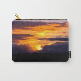 Sunset Hoquiam Airport Carry-All Pouch