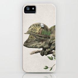 Born to Hide iPhone Case
