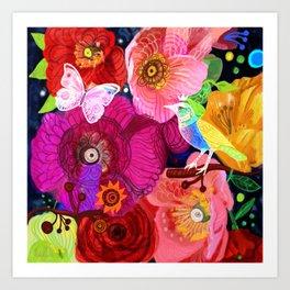 Wild spring Art Print