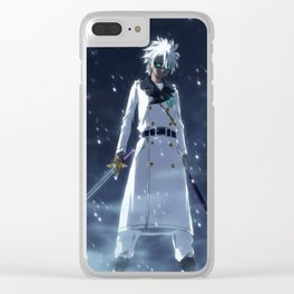 Toshiro Hitsugaya Zombie Clear iPhone Case