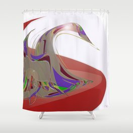 Bird Resonances Shower Curtain